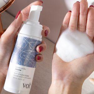 Secrets in the Snow: Soft Styling Foam